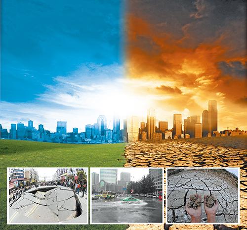 在海绵城市建设过程中,应统筹自然降水,地表水和地下水的系统性,协调